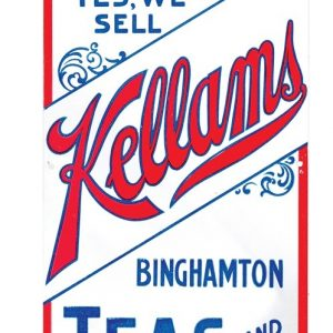 Kellams Teas and Coffees Door Push