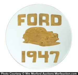 1947 Ford Dealership Sign