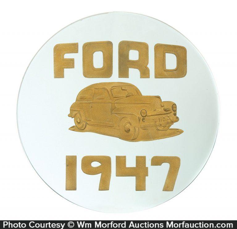 1947 Ford Dealership Sign