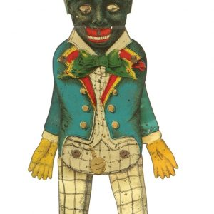 Black Man Mechanical Toy