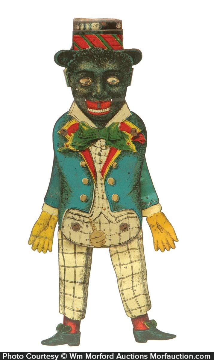 Black Man Mechanical Toy