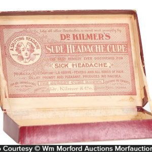 Dr. Kilmer's Headache Cure Box