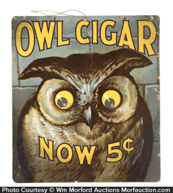 Owl Cigars Sign