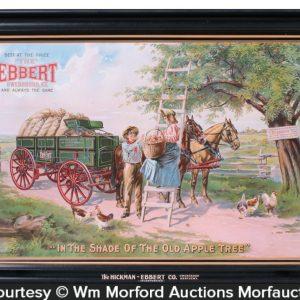 Ebbert Wagons Sign