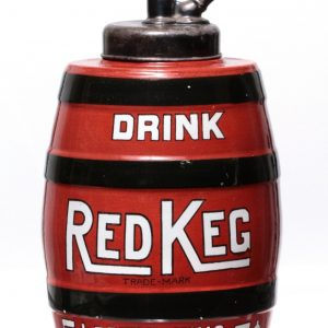 Red Keg Syrup Dispenser