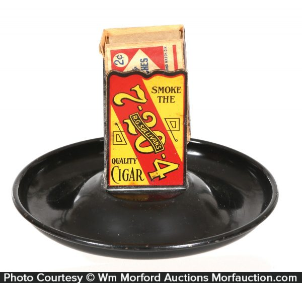 7-20-4 Cigars Match Holder