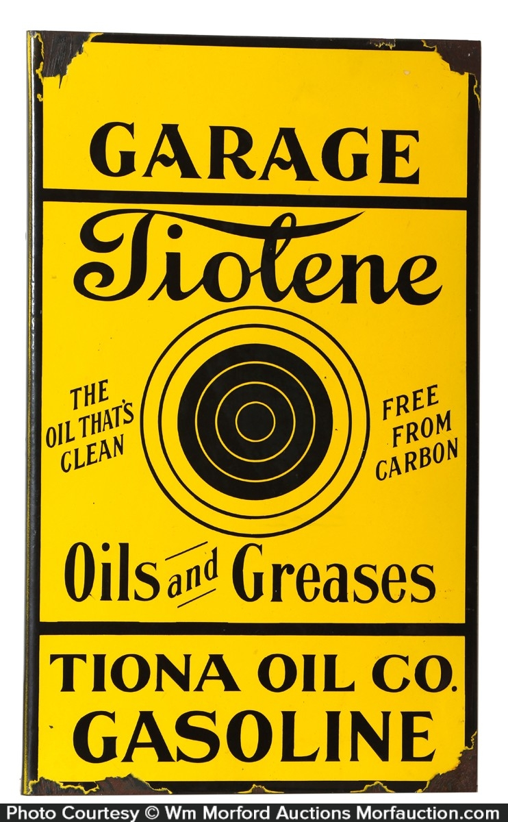 Tiolene Sign