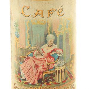 Exquisite Paris Cafe Coffee Tin