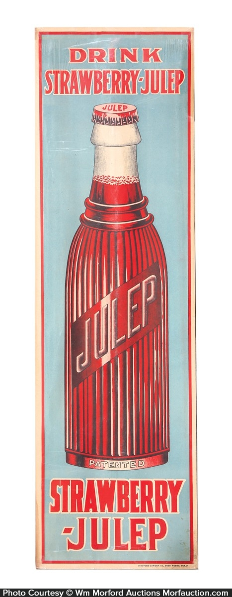 Strawberry-Julep Signs