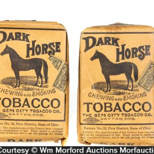 Dark Horse Tobacco Packs