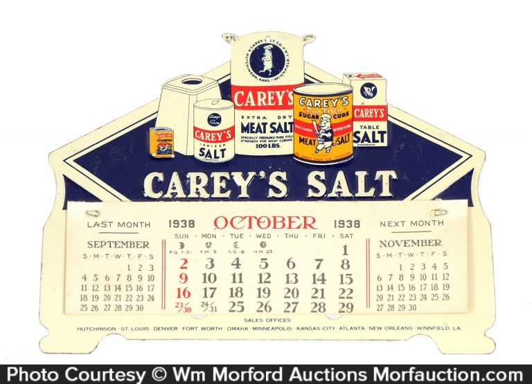 Carey's Salt Calendar
