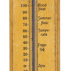 Red Cross Motor Oil Thermometer