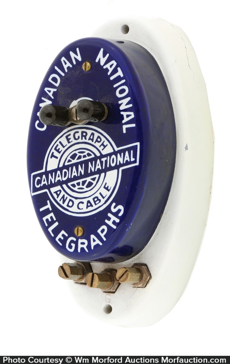 Canadian National Telegraphs Call Box