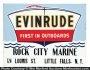 Evinrude Sign