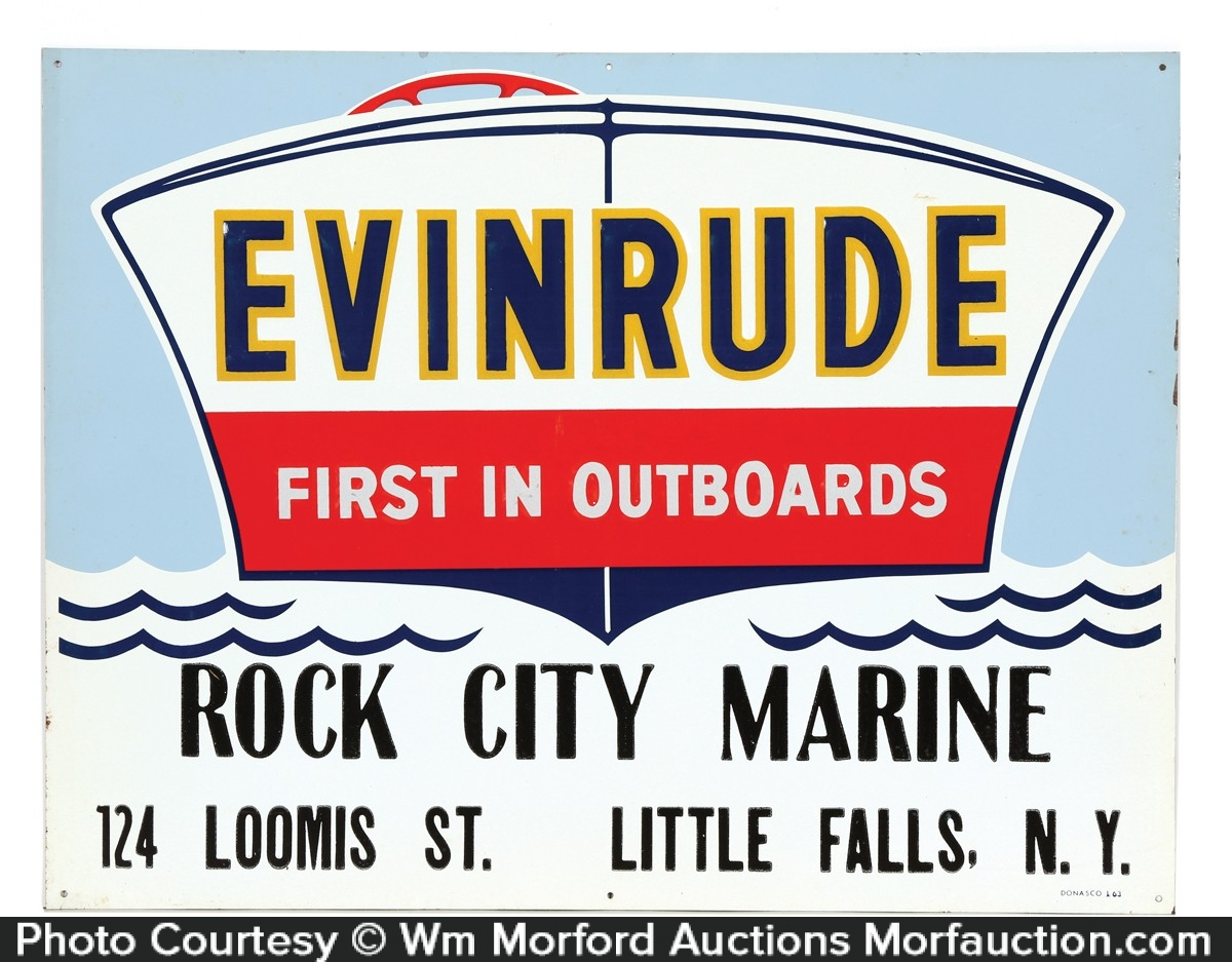 Evinrude Sign