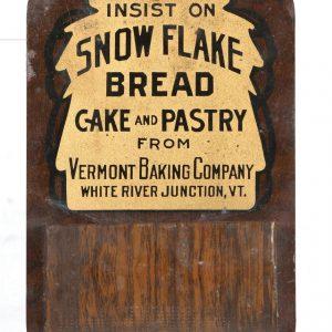 Snow Flake Bread Match Holder