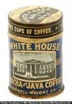 White House Sample Coffee Can