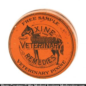 Pixine Veterinary Remedies Tin