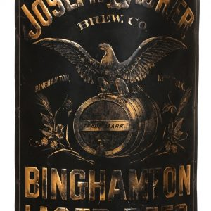Joseph Laurer Binghampton Beer Sign