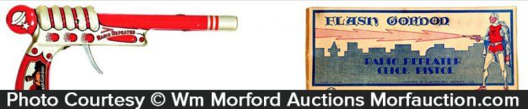 Flash Gordon Radio Repeater Pistol Toy
