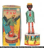 Strutting Sam Tin Toy