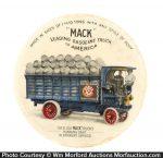 Mack Trucks Paperweight Mirror