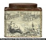 North Pole Cut Plug Tobacco Tin