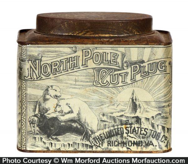 North Pole Cut Plug Tobacco Tin