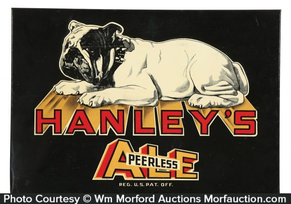 Hanley's Peerless Ale Sign
