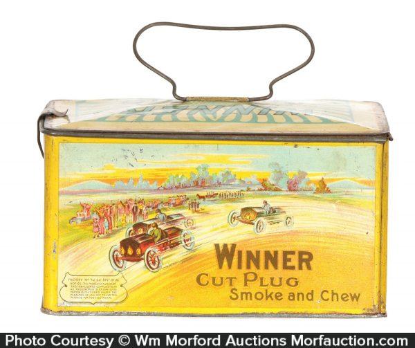 Winner Tobacco Lunch Box Tin