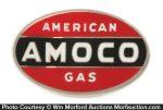 Amoco Gas Badge