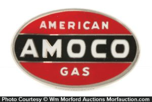 Amoco Gas Badge