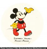 Mickey Mouse Store Badge