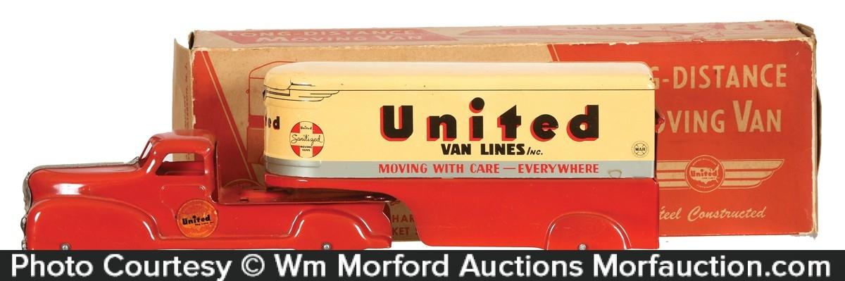 United Van Lines Toy Truck