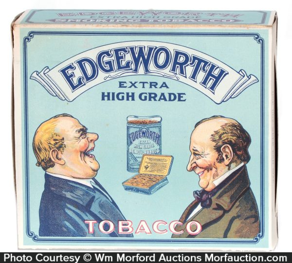 Edgeworth Tobacco Display Box