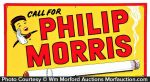 Call For Philip Morris Sign