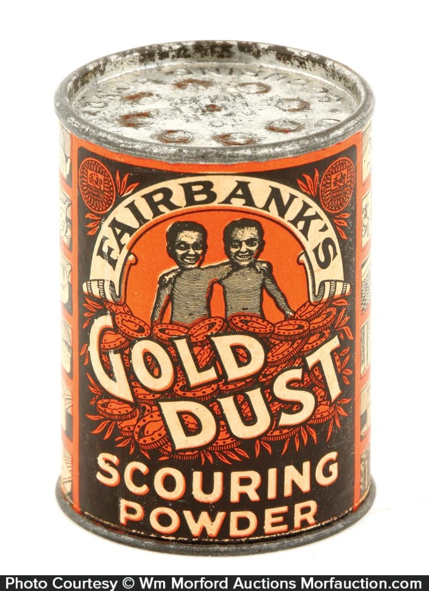 Fairbank's Gold Dust Sample Tin
