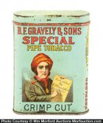 Gravely Special Pipe Tobacco Tin