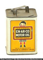 Enarco Motor Oil Can Bank