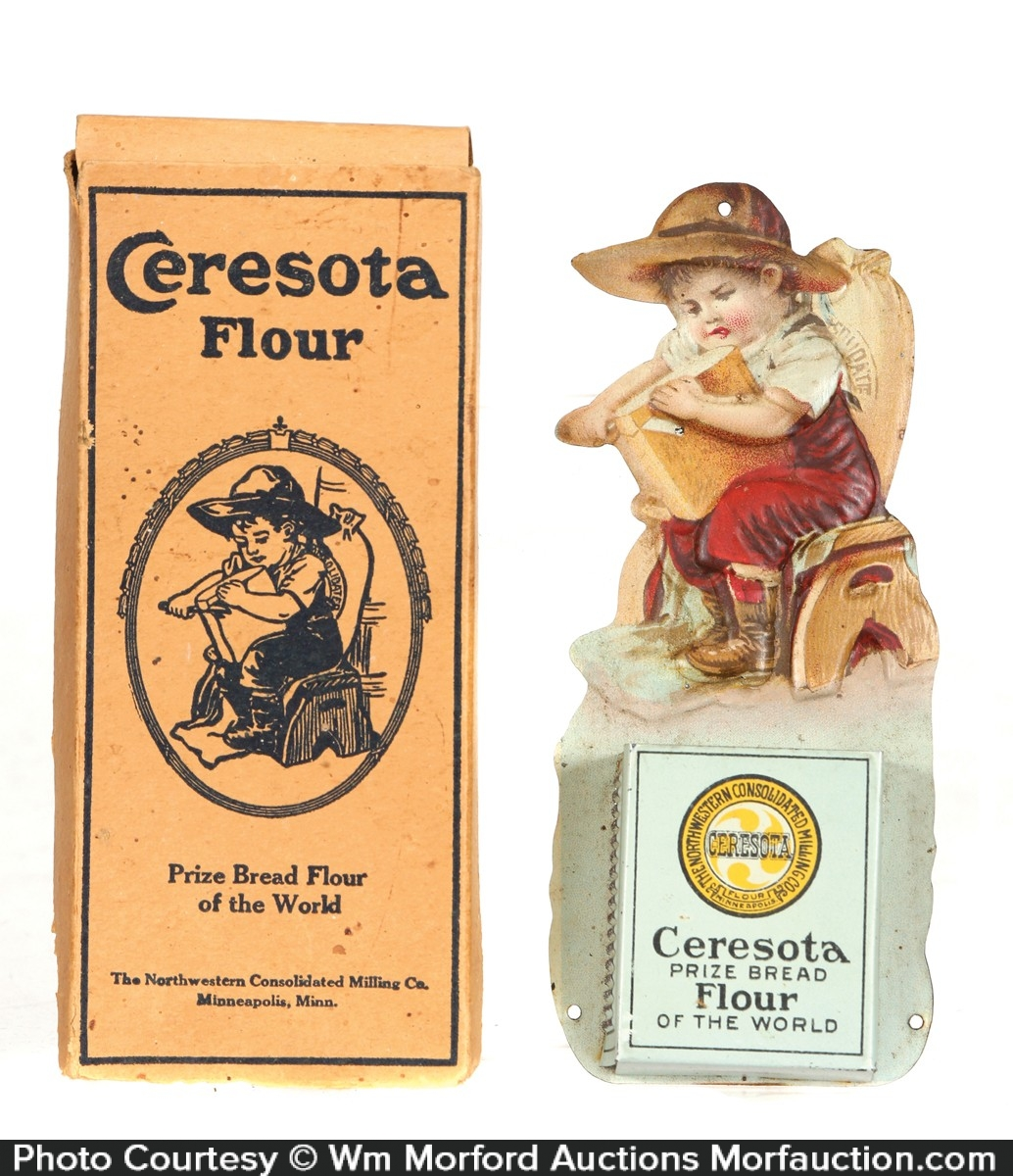 Ceresota Flour Match Holder