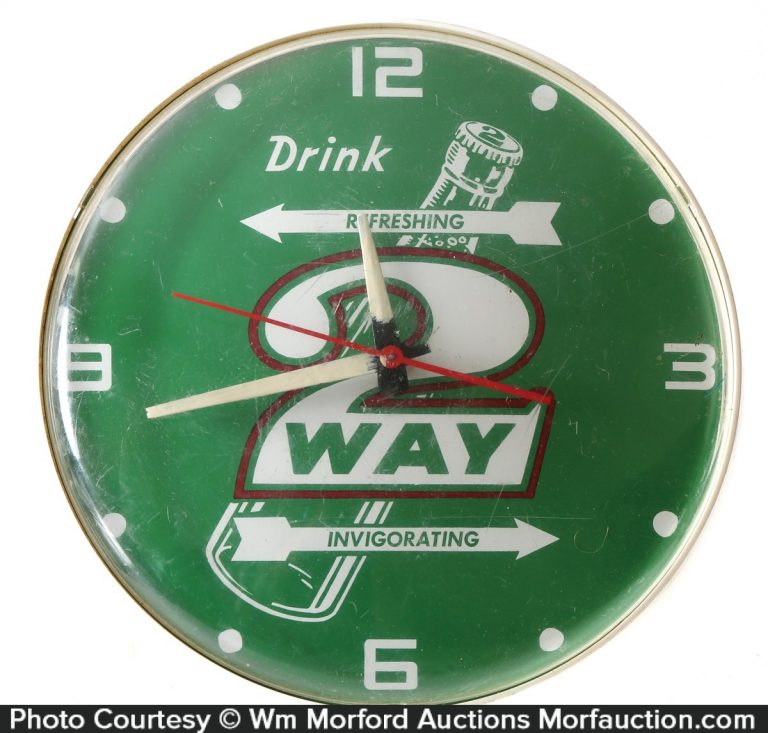 2-Way Soda Clock