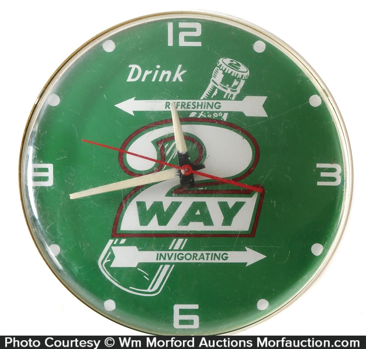 2-Way Soda Clock