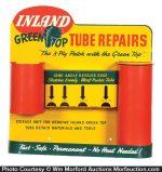 Inland Green Top Tube Repair Display