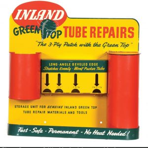 Inland Green Top Tube Repair Display