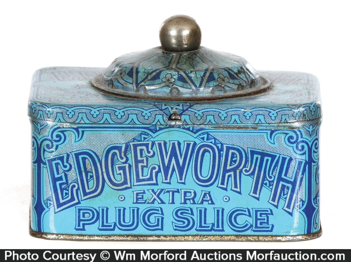 Edgeworth Plug Slice Tobacco Tin