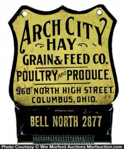 Arch City Hay Match Holder