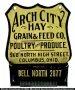 Arch City Hay Match Holder