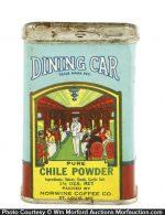 Dining Car Spice Tin