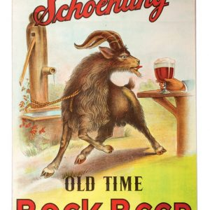 Schoenling Bock Beer Sign