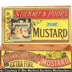 Stickney & Poor's Mustard Box
